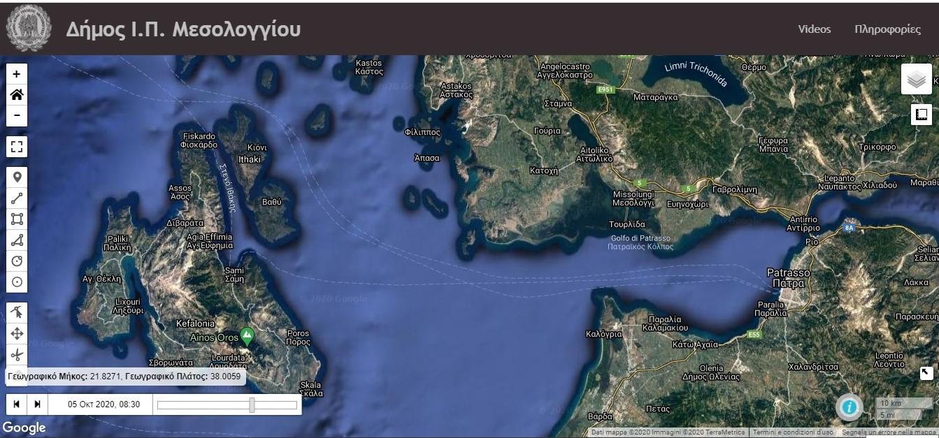 Preview Triton WebGIS observatory platform